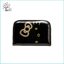 Customized PU leather small artist colorful waterproof makeup bag