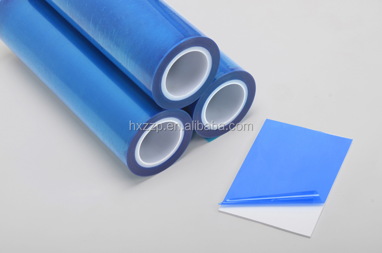 blue surface PE protection film