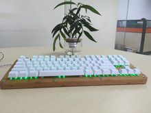 2016 Professional Gaming Mechanical Bamboo Wood Keyboard