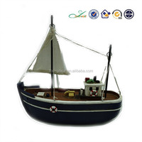 Antique home decor polyresin souvenir ships model