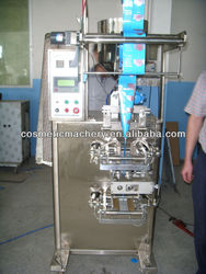 automatic small plastic bag packaging machine for cosmetic liquid