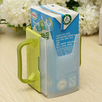 Multifunctional Juice Pouch Milk Box Spill-proof Baby Bottle Cup Holder