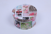 Handmade Round Flower Packaging Box With Lid