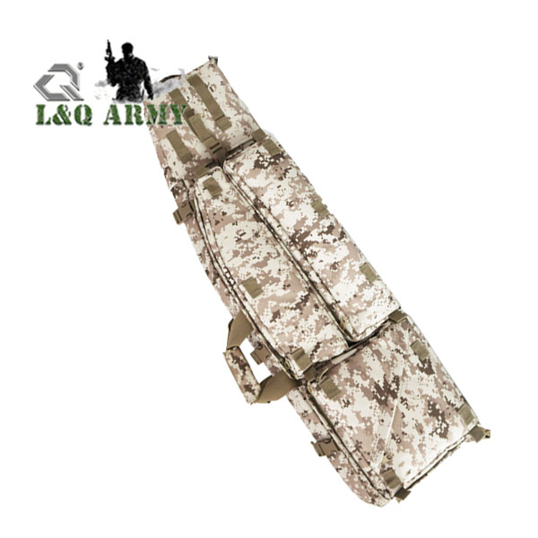 Camouflage Military Tactical Gun Rifle Drag Bag