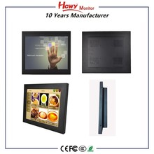 "7"" 8"" 10"" 12"" 15"" 17"" 19"" 22"" Industrial Touch Screen Monitor raspberry pi 3 Open Frame"