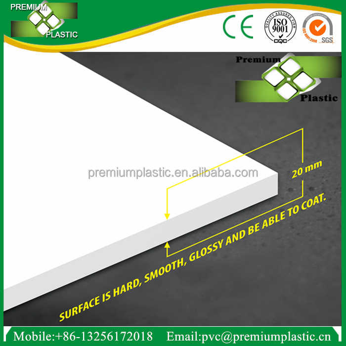 China factory 20mm thickness high density 4x8 partition board pvc foam <strong>sheet</strong>