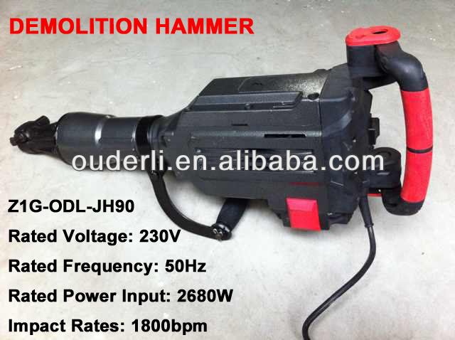 power tools Electric demolition power hammer on sale manufacturers China