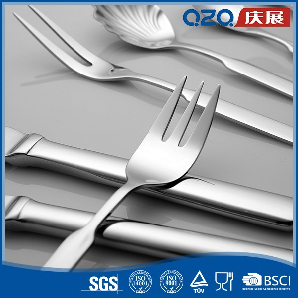 Stainless steel spoon and fork #070