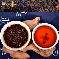 Aromatic royal yunnan loose ripe puer tea leaf