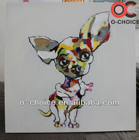 New arrivals handpainted canvas cartoon wall painting picture