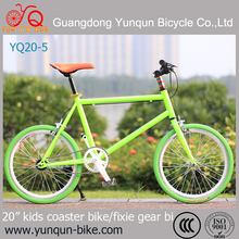 Coaster Brake bicycle Fixed Gear Bike/Fixed bicycle 20 inch for kid bicycle