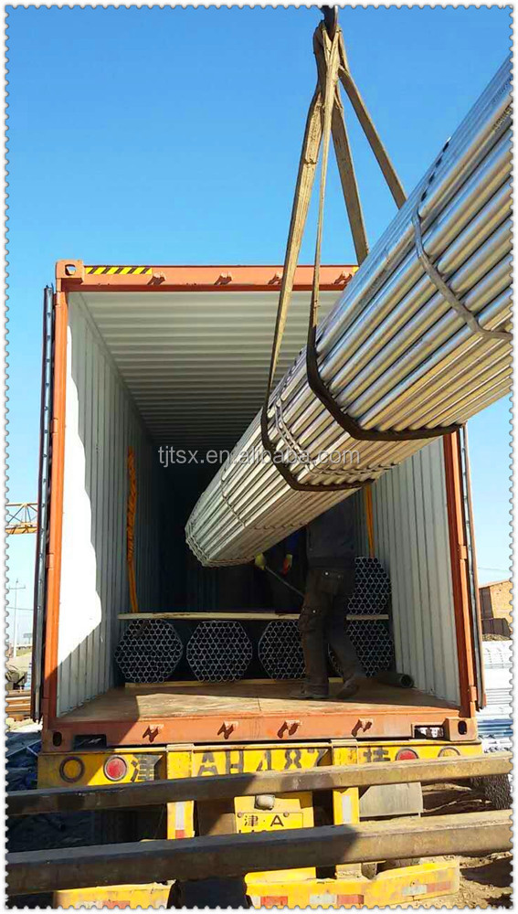 TSX-GSP2011 hot dip Galvanized iron pipes scaffolding Steel Pipe gi steel pipe
