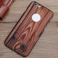 Mobile Phone Genuine Bamboo Wood PC Back Cover Case For All Apple iPhones For Apple Iphone
