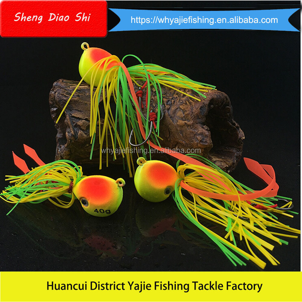2016 New Fishing Lure Jig Head Jigging Head Tungsten Fishing Metal Jig