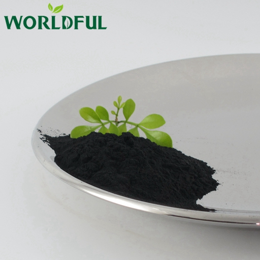 Worldful hot sale high content humic acid, fulvic acid potassium humate shiny powder for plant growth
