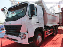 SINOTRUK HOWO A7 6X4 12-Wheel U Shape Dump Body Dump Truck For Sale