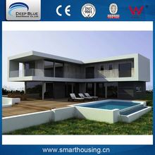 ISO certificated affordable prefab homes