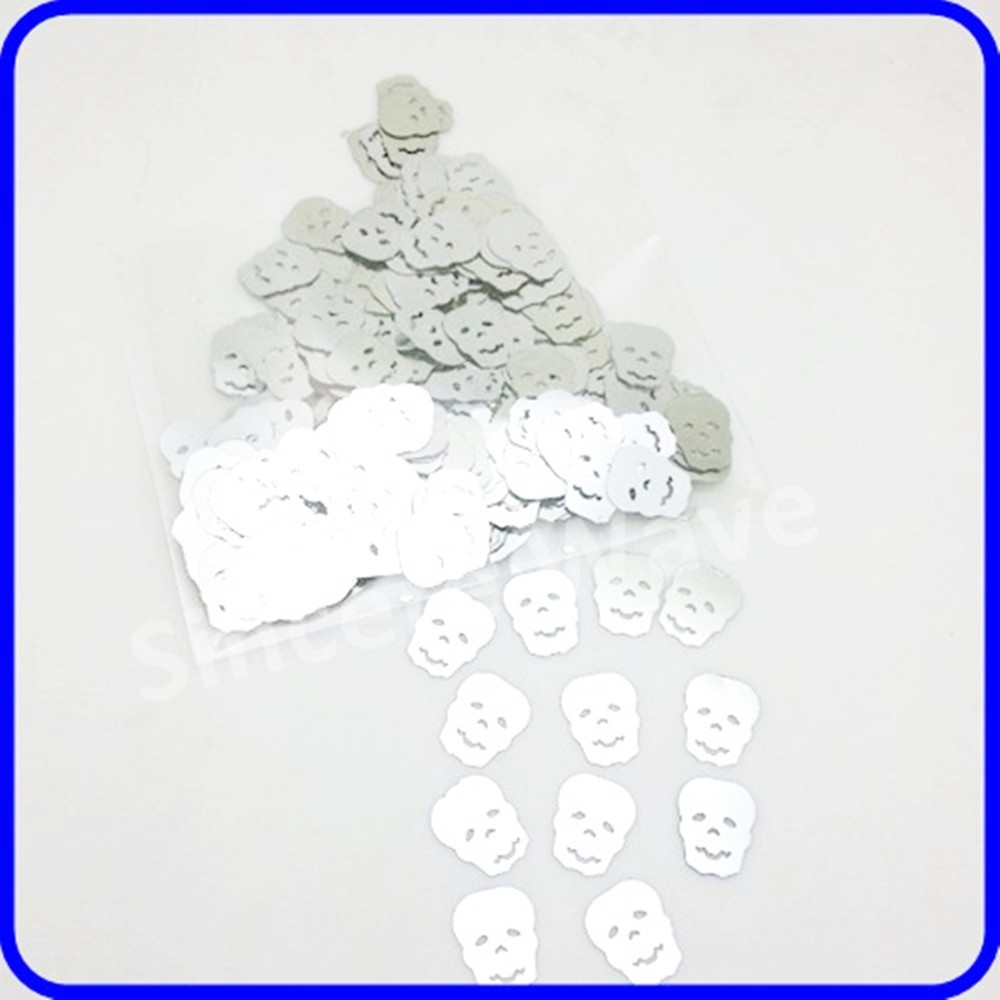 Halloween Decorations Skull Shape Table Confetti paillette sequins table Scatter Buy Confetti