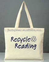 Hot sales cotton shopper bag with gusset for shopping and promotiom,good quality fast delivery
