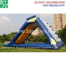 Hot Sales Popular Inflatable Floating Island / Inflatable Climbing Water Slide For Adult