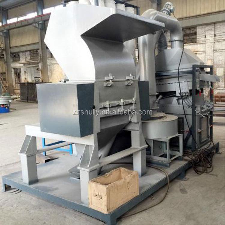 cheap dry separation scrap wire granulator machine waste copper cable separator recycling machine