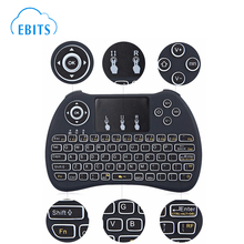 2.4G Mini Wireless Fly Air Mouse H9 Keyboard for Android TV Box