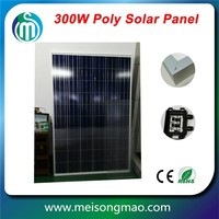 Factory direct price monocrystalline 250W solar panel with grade A solar cell
