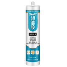 General purpose green silicone sealant applicable to decoration seal