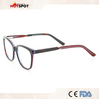 2017 Cheap Prescription Glasses Online Eyewear Stock Acetate Unbreakable Spectacle Frame