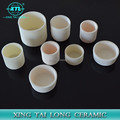 30ML 1600C 99.5%Al2O3 High Purity Conical Corundum Melting Pot Alumina Ceramic Crucible