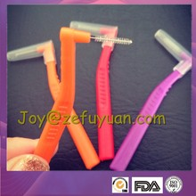 Lond Handle L Shape Interdental Brush Long Hand