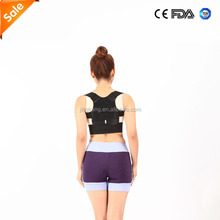 Back straightener Shoulder back brace magnetic posture corrector for back pain