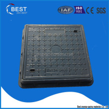 BEST EN124 D400 SMC Screw Locking Manhole Cover and frame