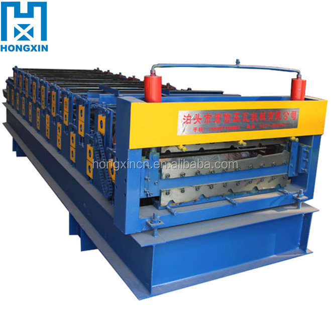 Top Quality Double Layer Corrugated Sheet Making Machine