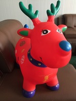 New style inflatable PVC jumping animal for kids