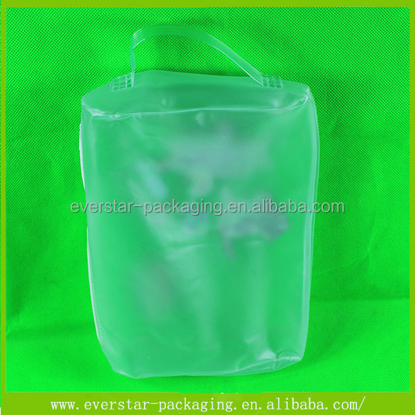 Waterproof Toy Packaging PVC Resealable Plastic Bag With Slider