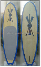 Holz paddle board/surfbrett