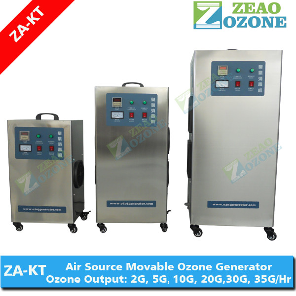 Household small ozone generator drinking water sterilizing machine