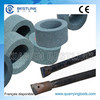 Grinding wheel for integral drill rod and chisel bit sharpener