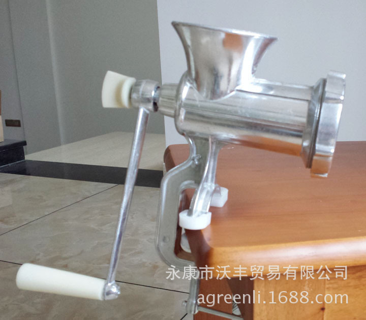 Small household meat grinder 10 meat machine manual mince noodle press treasure meat grinder mincer