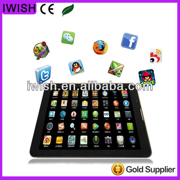 7 inch Dual Core for ipad 4 with 3d free games products you can import from china