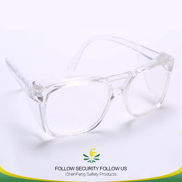 PC decoration new products tac shades safety goggles with concise design