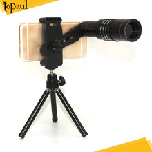 2017 universal 18x zoom Telescope Mobile Phone Telephoto Lens with Tripod for smartphone iphone