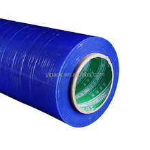 customzied high Tensile strength 23 Micron blue plastic wrap film