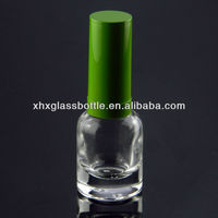 10ml topcoat glue nail polish bottle with brush and cap wholesale