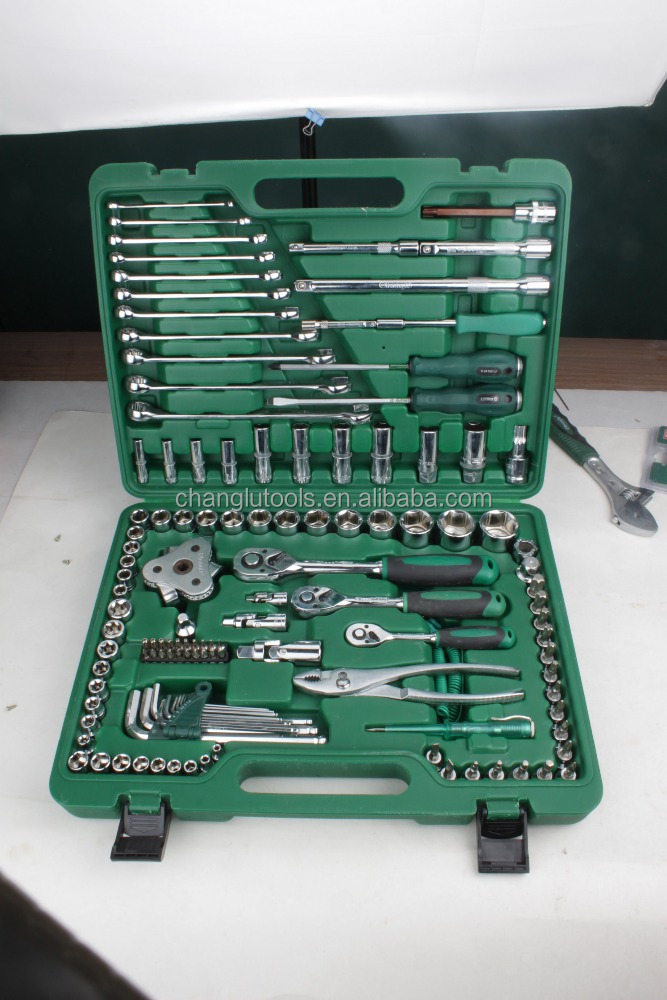 123pcs drive socket wrench set,hand tools
