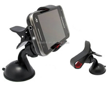 Universal Windshield Car Mount Bracket Holder Cupule Black for iPhone 6 5 5s samsung Smart Phone PDS GPS Camera Recoder
