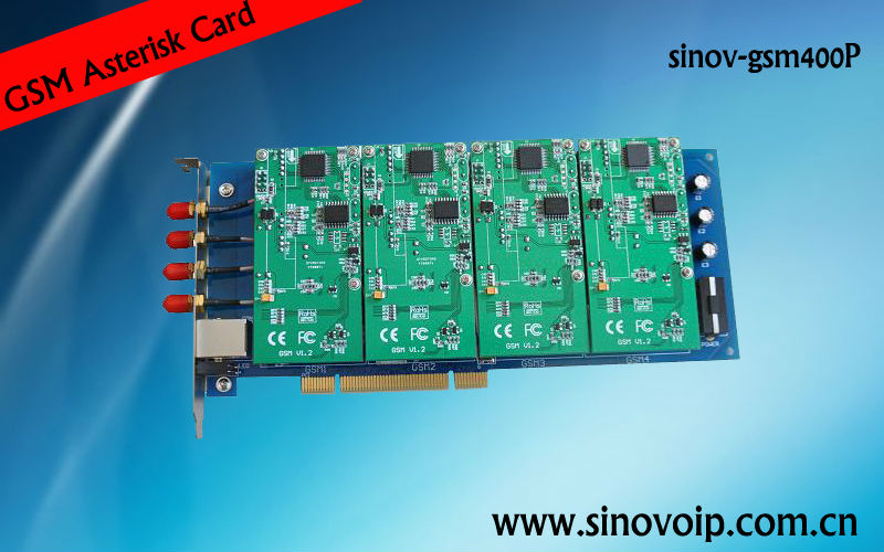 4 Port PCI Asterisk GSM Card support IMEI Change