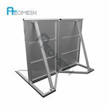AEO BARRIER Stage Safety Barriers/folding fence supplier for sales