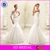 W1204 Custom Made Off Shoulder Appliques Mermaid Wedding Dress Patterns With Detachable Sash